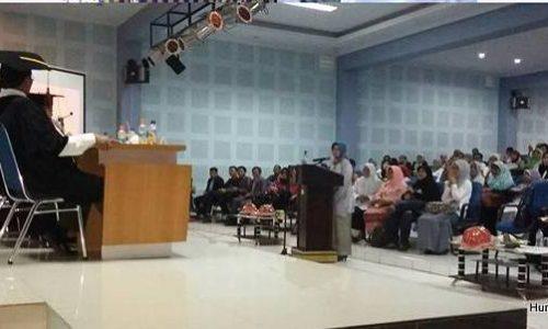 Wakil Dekan 1 Sastra UMI Raih Gelar Doktor Ilmu Linguistik