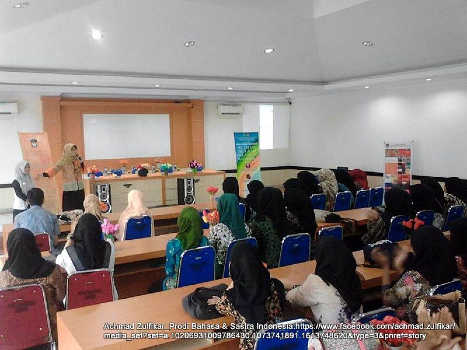 Prodi Bahasa & Sastra Indonesia UMI Gelar Pelatihan PKM