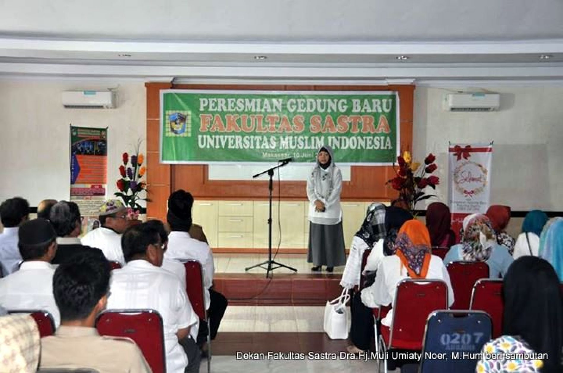Foto: Peresmian Gedung Baru Fakultas Sastra UMI